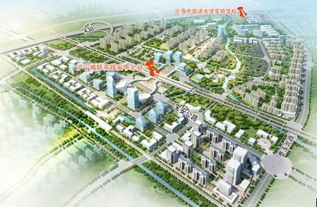 安亭北部新区规划图