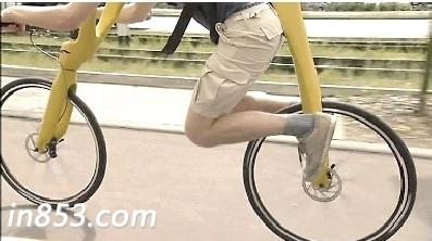德国设计师为没有链条的自行车揭开面纱
