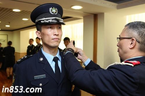 澳门警�_治安警察局举行警务总长晋升仪式 - 澳门新闻 - 企业