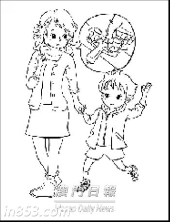 怎样画长城儿童简笔画
