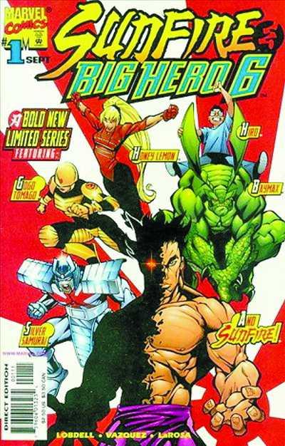 《大英雄联盟》的原装漫画封 面跟电影版差异甚大.