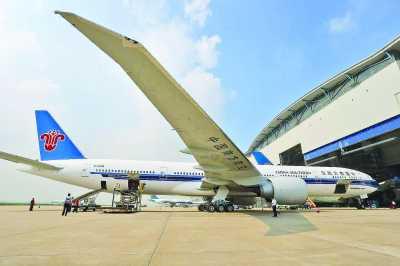 此次接收的第六百架飞机也将继续投入到广州