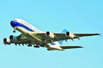 南航国内前往欧洲的航班将升级由a380执飞