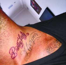 碧咸为爱女纹身图片